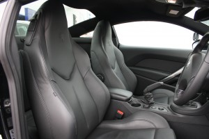 Peugeot RCZ seats