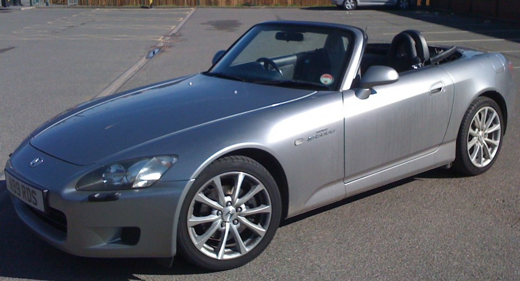 S2000 with roof down