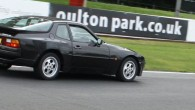 Our first track day of the stint of days we're doing at Oulton Park in Cheshire.