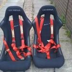 Cobra bucket seats